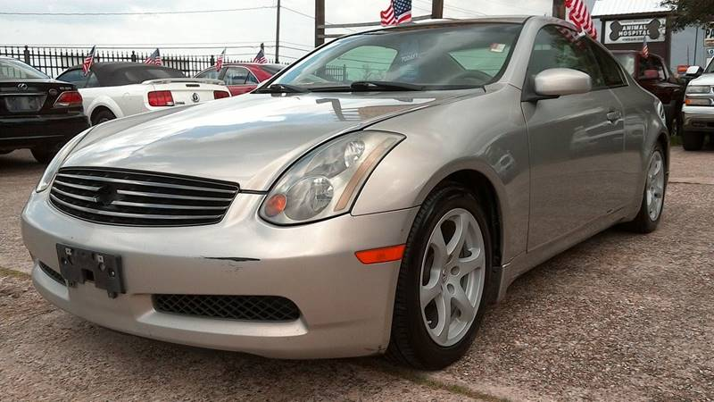 2004 Infiniti G35 for sale at Texan Direct Auto Group in Houston TX