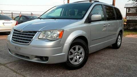 2010 Chrysler Town and Country for sale at Texan Direct Auto Group in Houston TX