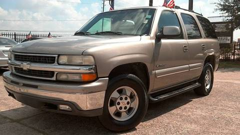 2001 Chevrolet Tahoe for sale in Houston, TX