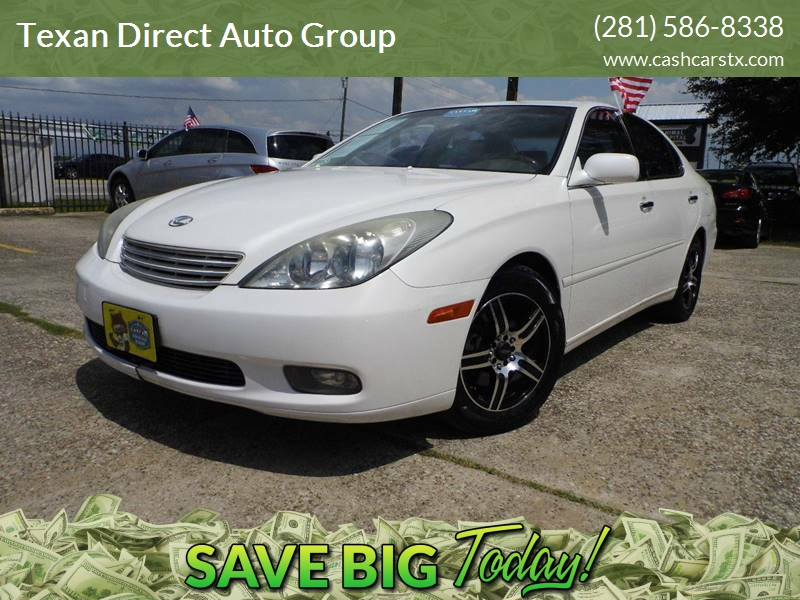 2003 Lexus ES 300 For Sale At Texan Direct Auto Group In Houston TX