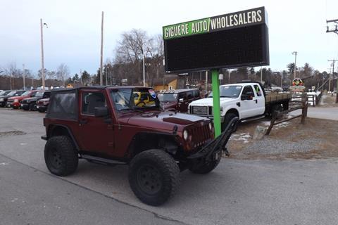 2007 Jeep Wrangler for sale in Tilton, NH