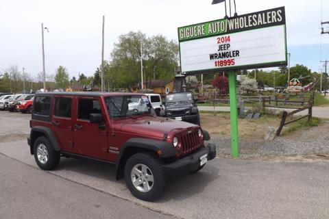2012 Jeep Wrangler Unlimited for sale in Tilton, NH