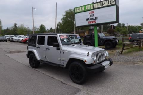 2008 Jeep Wrangler Unlimited for sale in Tilton, NH
