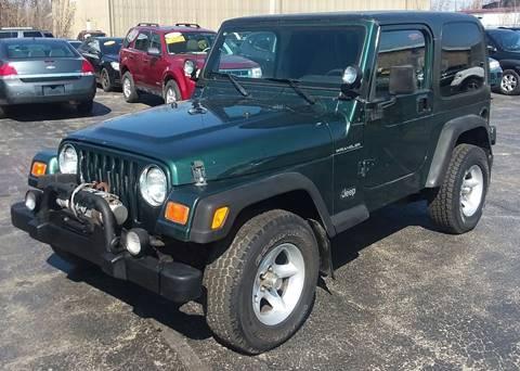 2000 Jeep Wrangler for sale in Bradley, IL