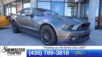 2013 Ford Shelby GT500 for sale in Vernal, UT