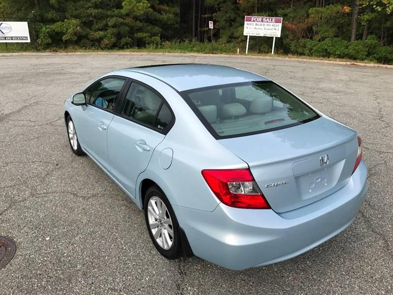 2012 Honda Civic EX In Sandston VA - East Side Automotive LLC