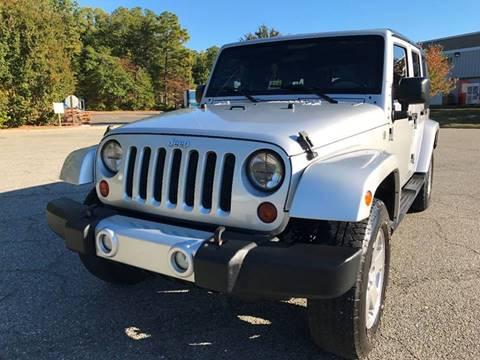 2010 Jeep Wrangler Unlimited for sale in Sandston, VA