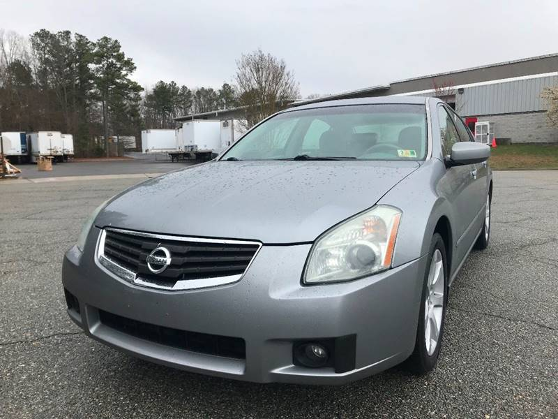 Perfect 2007 Nissan Maxima For Sale At East Side Automotive, LLC In Sandston VA
