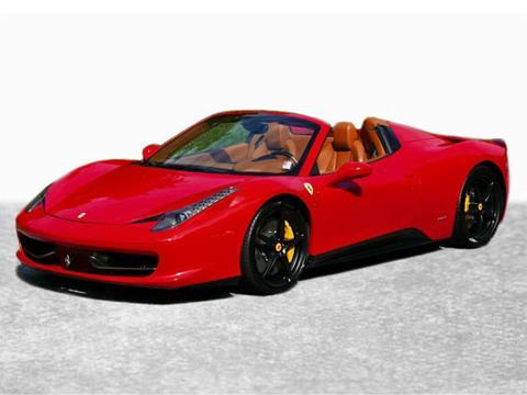 2012 Ferrari 458 Spider for sale in Greensboro, NC