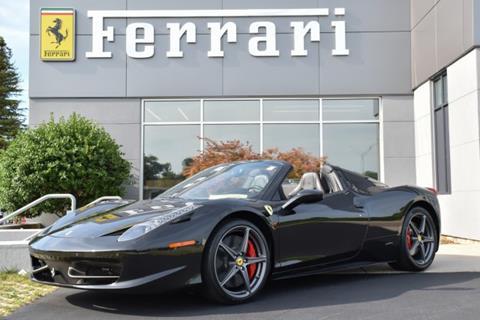 2014 Ferrari 458 Spider For Sale In Horicon Wi Carsforsale