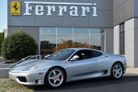 2003 Ferrari 360 Modena For Sale In Greensboro, NC