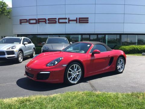 Boxster For Sale >> 2016 Porsche Boxster For Sale In Greensboro Nc
