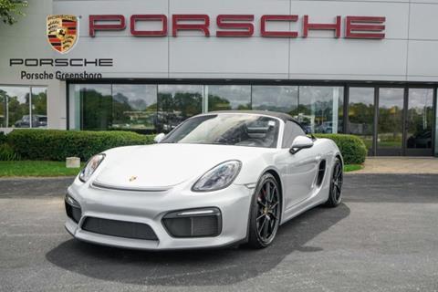 2016 Porsche Boxster for sale in Greensboro, NC