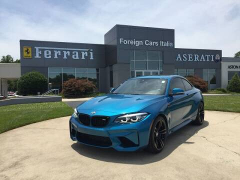 2018 BMW M2 for sale at Foreign Cars Italia in Greensboro NC