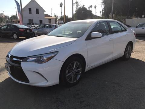 2017 Toyota Camry for sale in Riverside, CA