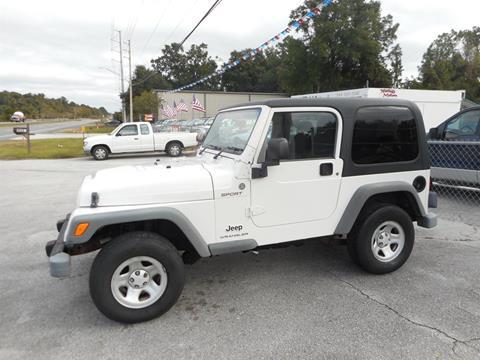 2006 Jeep Wrangler for sale in Jacksonville, FL