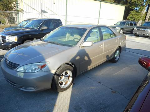 2002 Toyota Camry for sale in Jacksonville, FL