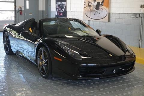 2014 Ferrari 458 Spider for sale in Charlotte, NC