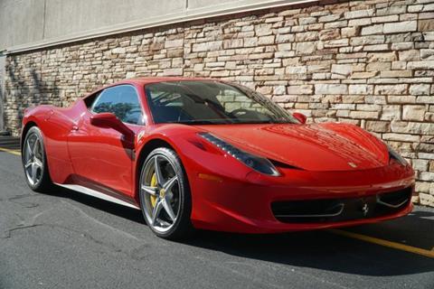 2012 Ferrari 458 Italia For Sale In Norway Me Carsforsale