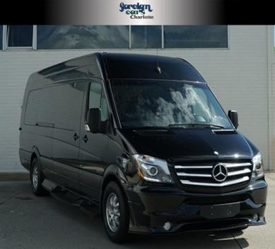 Good 2015 Mercedes Benz Sprinter Cargo For Sale In Charlotte, NC
