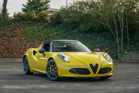 2016 Alfa Romeo 4C for sale in Charlotte, NC