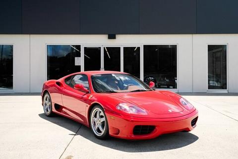 2004 Ferrari 360 Modena for sale in Charlotte, NC