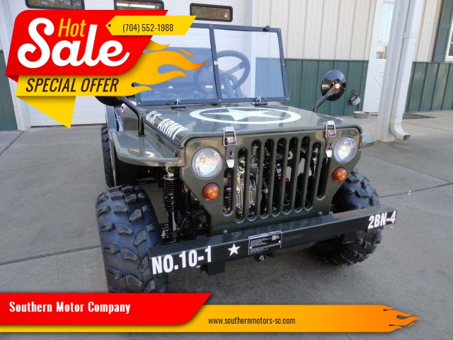 1943 Willys Miniature  ATV  Jeep for sale at Southern Motor Company in Lancaster SC