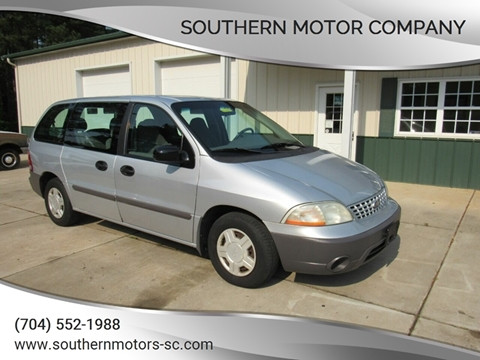 2001 Ford Windstar for sale at Southern Motor Company in Lancaster SC