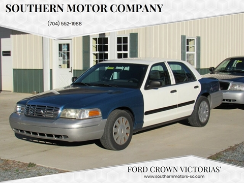 2006 Ford Crown Victoria for sale at Southern Motor Company in Lancaster SC