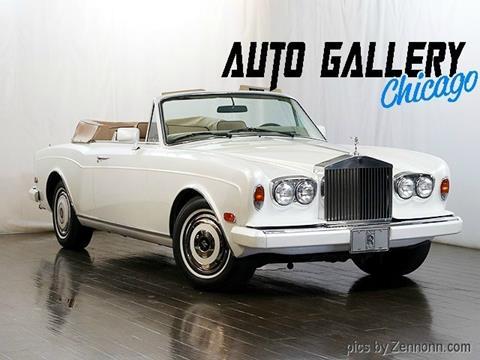 1982 Rolls-Royce Corniche for sale in Addison, IL