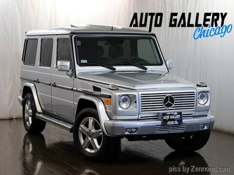 2008 Mercedes-Benz G-Class G 500 for sale at Auto Gallery Chicago in Addison IL