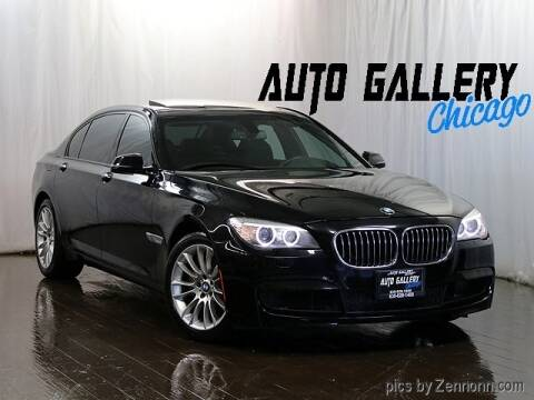 2013 BMW 7 Series 740Li for sale at Auto Gallery Chicago in Addison IL