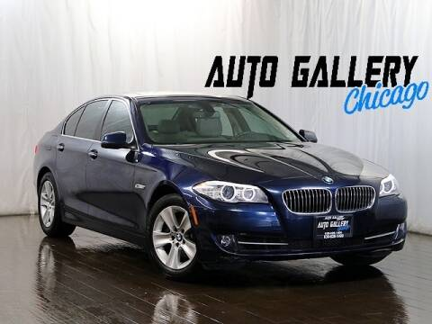 2013 BMW 5 Series 528i xDrive for sale at Auto Gallery Chicago in Addison IL