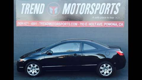 2011 Honda Civic for sale at Trend Motorsports in Pomona CA