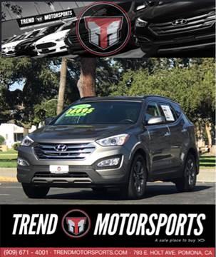 2014 Hyundai Santa Fe Sport for sale at Trend Motorsports in Pomona CA