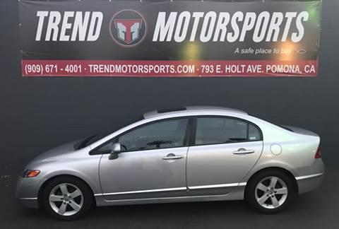 2006 Honda Civic for sale at Trend Motorsports in Pomona CA
