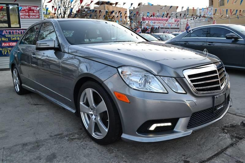2011 Mercedes-Benz E-Class for sale at Elite Automall Inc in Ridgewood NY