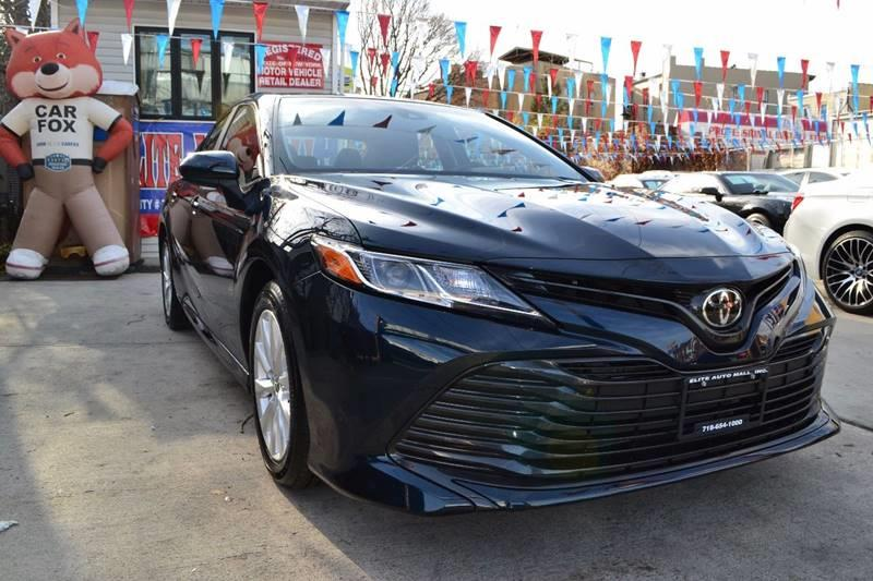 2018 Toyota Camry for sale at Elite Automall Inc in Ridgewood NY