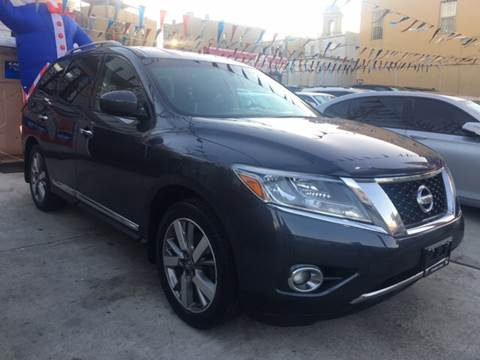 2013 Nissan Pathfinder for sale at Elite Automall Inc in Ridgewood NY