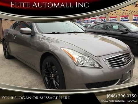 2009 Infiniti G37 Coupe for sale in Ridgewood, NY