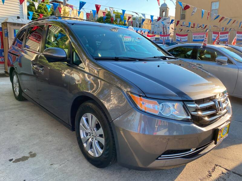 2016 Honda Odyssey for sale at Elite Automall Inc in Ridgewood NY