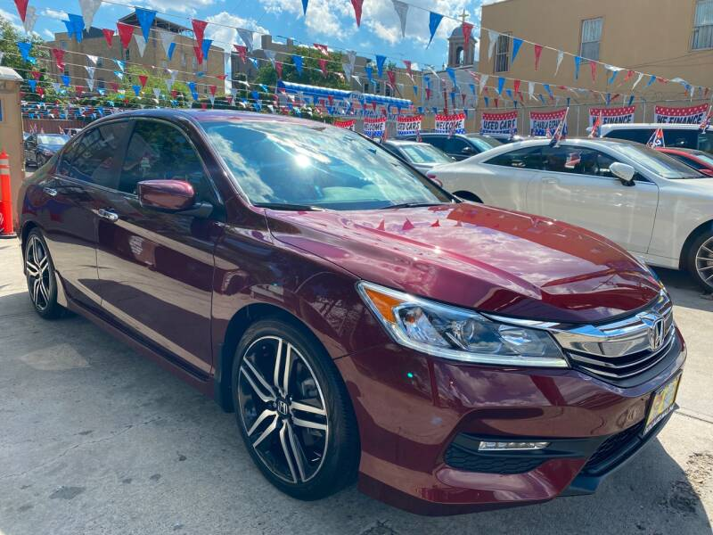 2017 Honda Accord for sale at Elite Automall Inc in Ridgewood NY