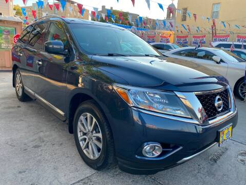 2015 Nissan Pathfinder for sale at Elite Automall Inc in Ridgewood NY