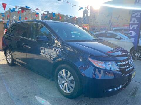 2015 Honda Odyssey for sale at Elite Automall Inc in Ridgewood NY
