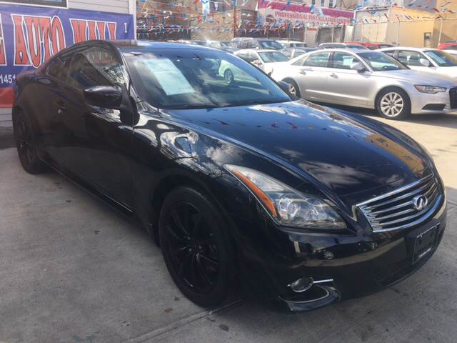 2011 Infiniti G37 Coupe X In Ridgewood Ny Elite Automall Inc