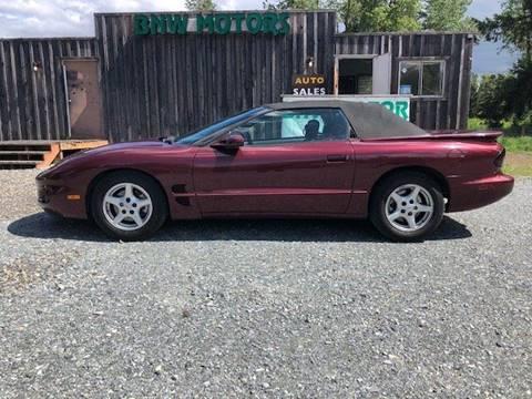 2001 Pontiac Firebird for sale in Mckenna, WA