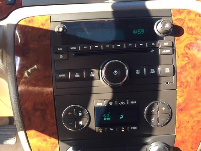 2013 Chevrolet Tahoe 4x2 LT 4dr SUV - Marble Falls TX