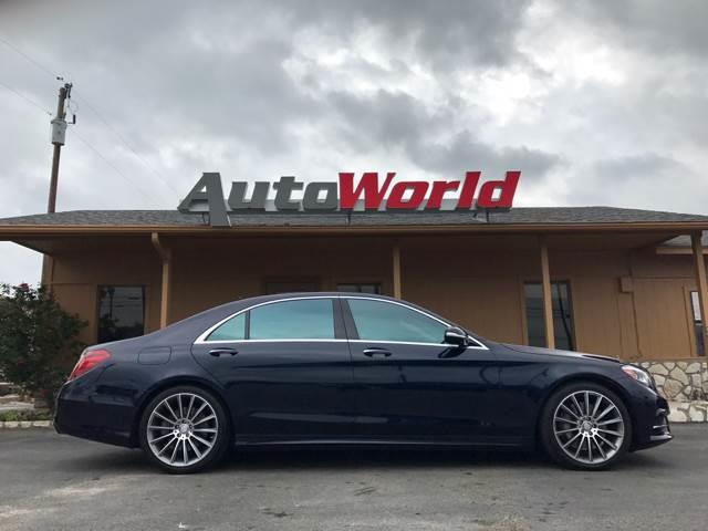 2015 Mercedes-Benz S-Class AWD S 550 4MATIC 4dr Sedan - Marble Falls TX