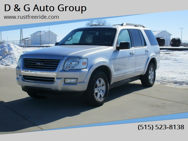 2010 Ford Explorer for sale at D & G Auto Group in Stuart IA