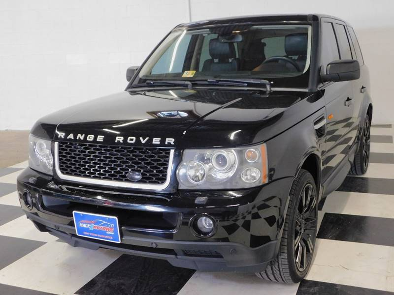 2007 land rover range rover sport supercharged in fredericksburg va mack 1 motors. Black Bedroom Furniture Sets. Home Design Ideas